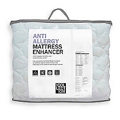 Debenhams - Anti allergy mattress enhancer