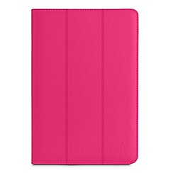 Belkin - Belkin Tri-Fold Folio for Samsung Galaxy Tab 3 10 inch in Bubble Gum