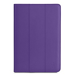 Belkin - Belkin Tri-Fold Folio for Samsung Galaxy Tab 3 10 inch in Purple