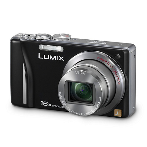 Panasonic - Lumix +DMC-TZ18+ 14 megapixel digital camera