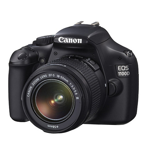 Canon - EOS +1100D+ D-SLR Camera with 18-55mm lens