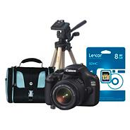Canon EOS '1100D' D-SLR camera with 18-55MM lens kit