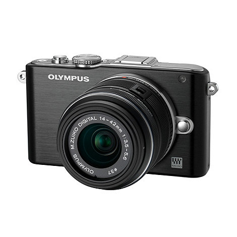 Olympus - PEN +E-PL3+ compact system camera with 14-42mm lens