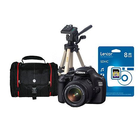 Canon - EOS +1100D+ D-SLR 12 megapixel digital camera with 18-55mm lens