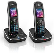 Aura 1500 twin DECT telephone