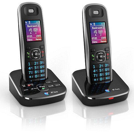 BT - Aura 1500 twin DECT telephone