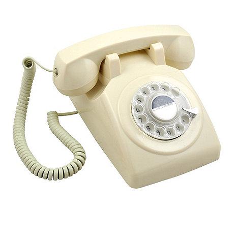GPO - Ivory 746 +Rotary Retro+ telephone