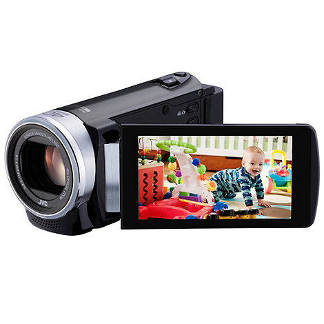 JVC - GZ-EX215 Full Hd 1080p camcorder, Wi-Fi, 40x optical zoom, 3 inch touchpanel LCD