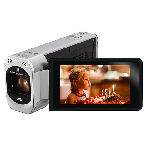 JVC - GZ-VX715 Full HD, 3 inch touch LCD, Wi-Fi digital camcorder