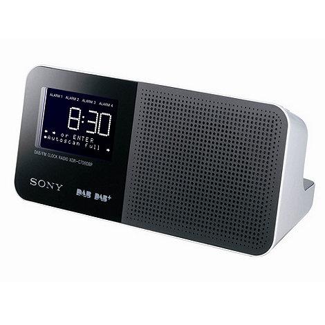 Sony - DAB clock radio XDRC706DBO