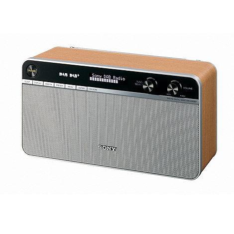 Sony - Retro style DAB digital radio XDR-S16DBPMI