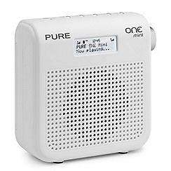 Pure - ONE Mini white series II DAB digital radio VL-61668