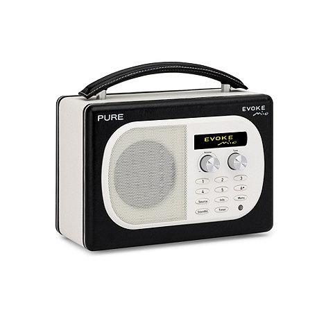Pure - Black +Evoke Mio+ DAB digital radio