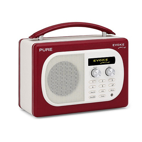 Pure - Red +Evoke Mio+ DAB digital radio
