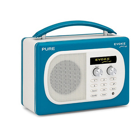 Pure - Teal +Evoke Mio+ DAB digital radio