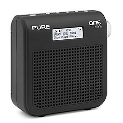Pure - One Mini Series II VL-61665 portable DAB radio in black