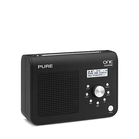Pure - Black +ONE Classic Series II+ DAB radio