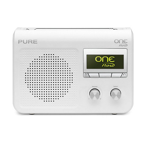 Pure - White +One Flo VL-61723+ DAB internet radio in white