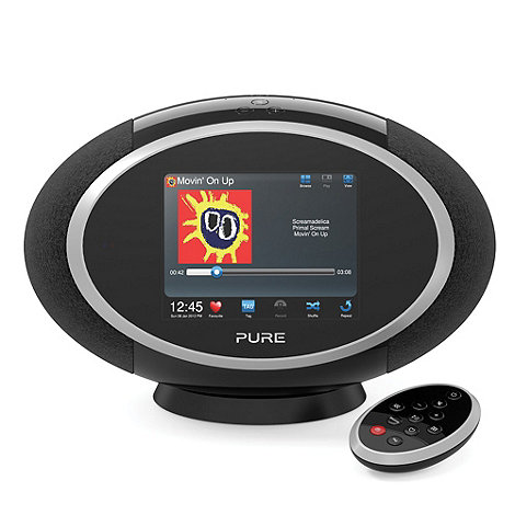 Pure - Black +Sensia 200D Connect+ VL-61792 wireless audio system in black
