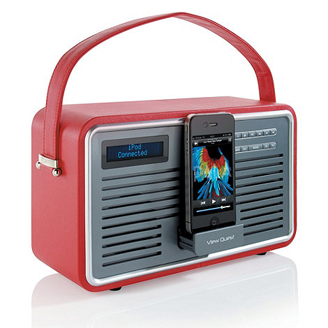 Viewquest - Red +Retro Radio+