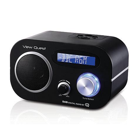 Viewquest - Black +VQDR-80+ digital radio