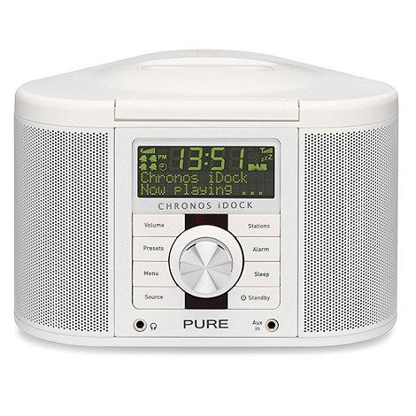 Pure - Chronos I-Dock Series II VL-61266 digital radio in white
