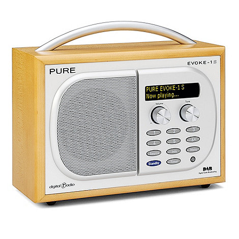 Pure - Evoke 1S maple DAB digital radio