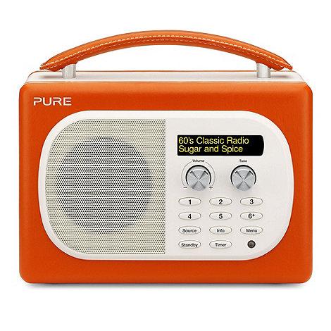 Pure - Paprika +Evoke Mio+ VL-61834 DAB digital radio