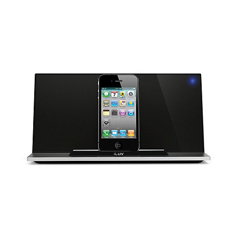 iLuv - Black iPod dock