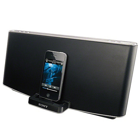 Sony - Bluetooth speaker dock +RDP-X200IP+