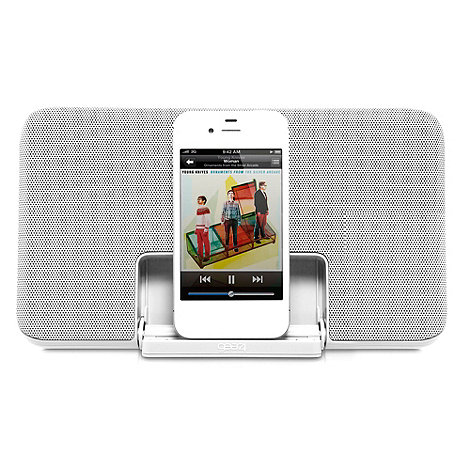 Gear 4 - Grey +PG492 Grey Street Party+ iPod and iPhone speaker dock