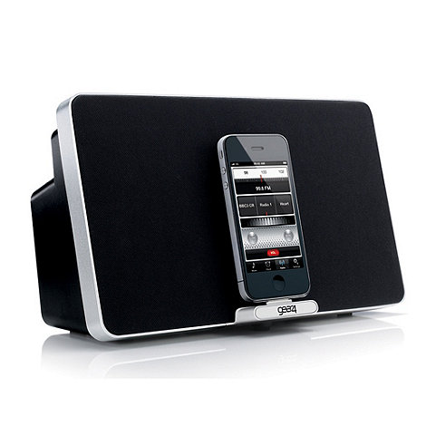 Gear 4 - Black +PG541 House Party+ iPod and iPhone speaker dock