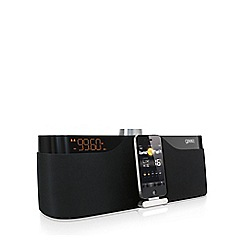 Gear 4 - Black 'Houseparty Rise' docking speaker and radio G4PG534