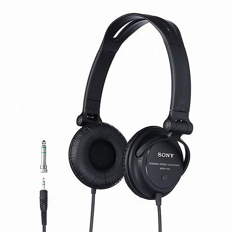 Sony - Black DJ headphones - MDRV150