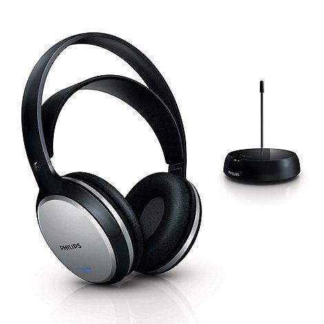 Philips - Black SHC5100/10 headphones