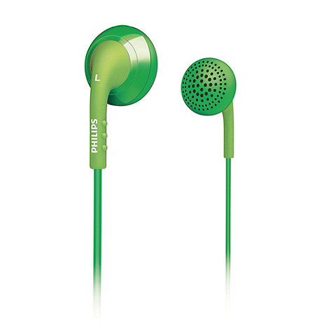Philips - Green in ear headphones SHE2670GN