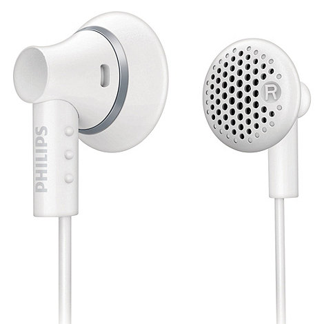 Philips - White +SHE3000+ in-ear headphones