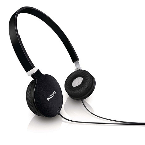 Philips - Lightweight black headphones 'SHL1700/10'