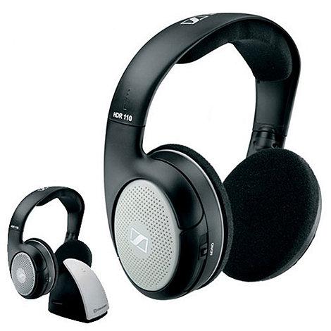 Sennheiser - Black +RS110+ wireless headphones