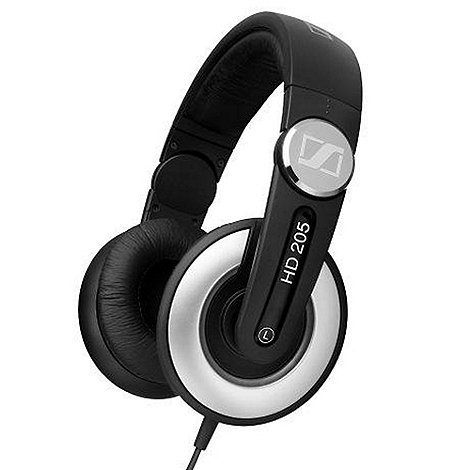 Sennheiser - HD205-II Traditional DJ headphones