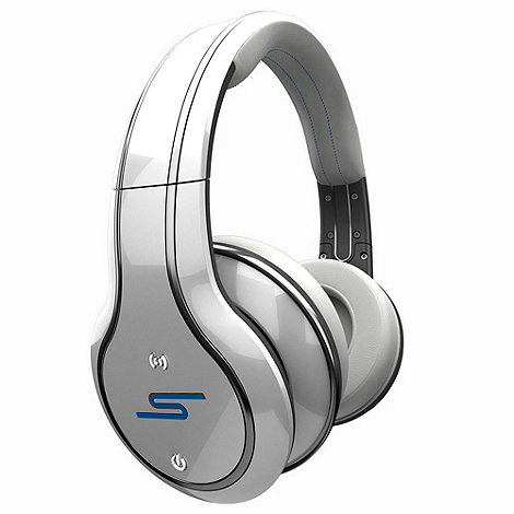 SMS Audio - Audio +Sync by 50 Cent SMSSYNCCWH+ wireless headphones in white