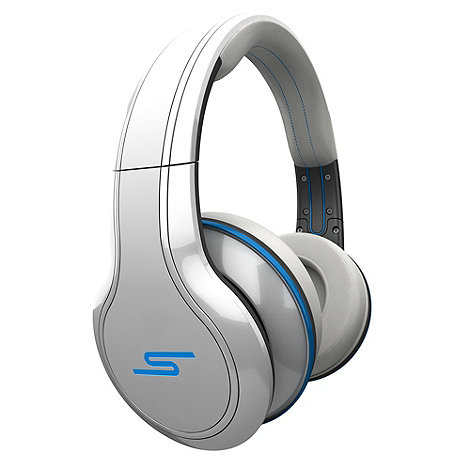 SMS Audio - Audio +Street by 50 Cent SMSSTRWH+ headphones in white