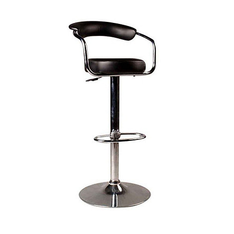 Debenhams - Black +Meteor+ gas lift bar stool