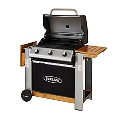 Outback - 'Spectrum' 3 burner gas barbeque