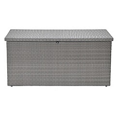Debenhams - Rattan effect 'Andes' garden storage box