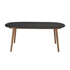 Debenhams - Black 'Montego' dining table