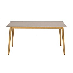 Debenhams - 'Andreas' rectangle dining table