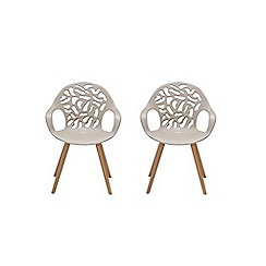 Debenhams - Pair of 'Andreas' dining chairs