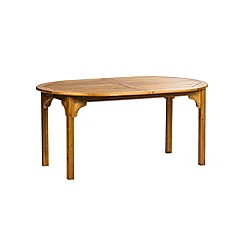Debenhams - Acacia wood 'Panama' extending table