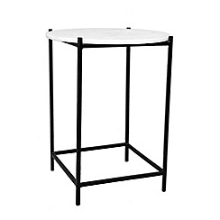 Debenhams - Marble 'Arya' side table